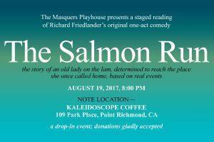 Salmon Run postcard