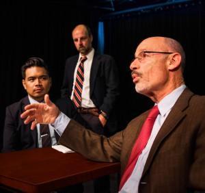 Pictured (L-R): Enrico Banson, Dominick Palamenti, Charles Isen Photo Credit: Budinger & Scarpelli