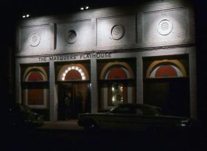 The theater at 105 Park Place in Point Richmond, 1965 — four years after becoming Masquers Playhouse.