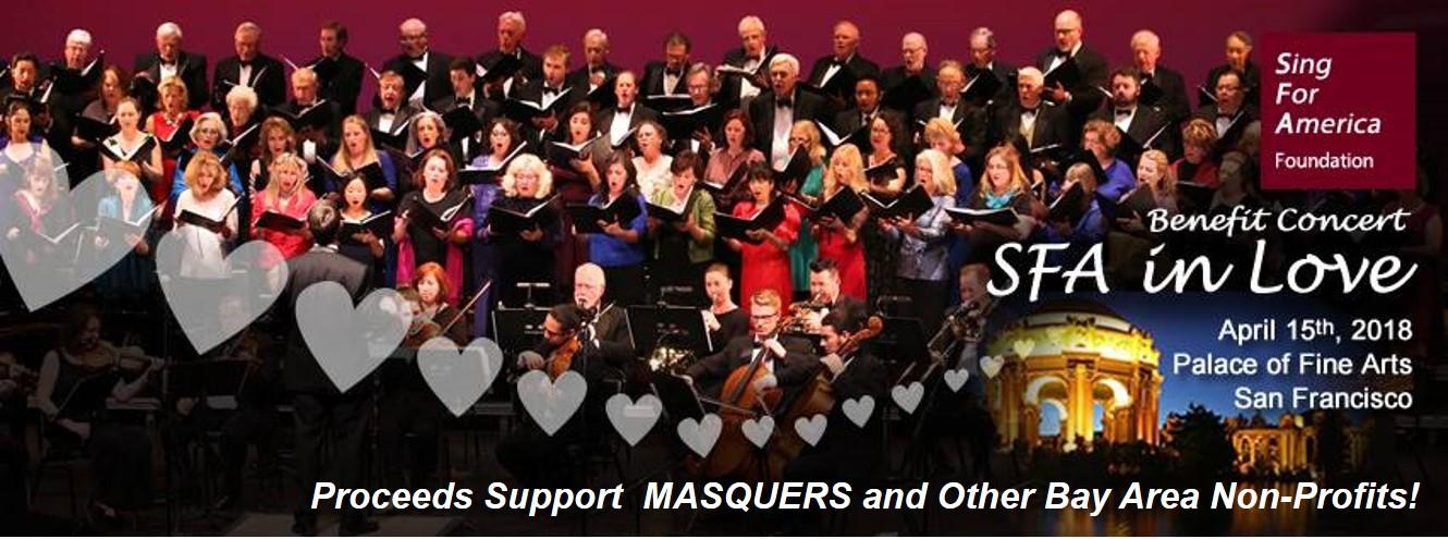 Sing for America Foundation Finds Someone to Love – The Masquers!