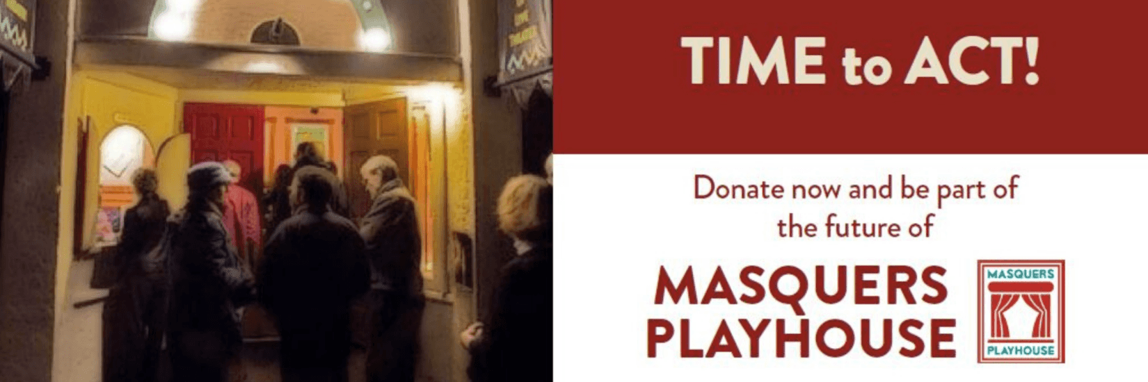 Make a donation to Masquers PlayHouse Campaign, November 2019