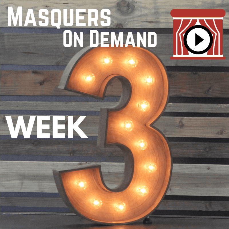 June 24, 2020 – Masquers On Demand