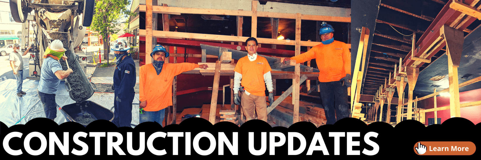 Click here to read construction updates